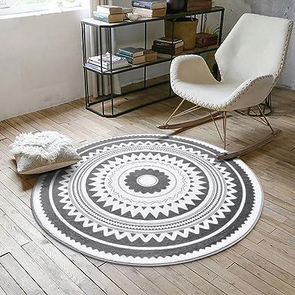 Amazon Com Momo Rug Nordic Kreative Runde Teppich Wohnzimmer