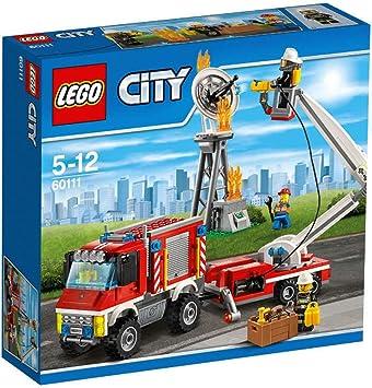 lego city 60111 le camion dintervention des pompiers - Lego City Pompier