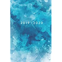 2019 - 2020: Weekly Planner Starting May 2019 - Dec 2020 | 6 x 9 Dated Agenda | Appointment Calendar | Organizer Book | Soft-Cover Watercolor Blue
