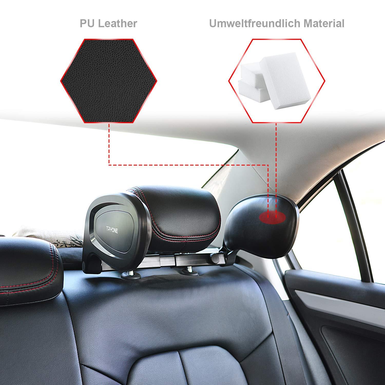 Cale-nuque pliable pour dormir dans la voiture pour adultes et enfants Tryone Oreiller de nuque voiture appui-t/ête