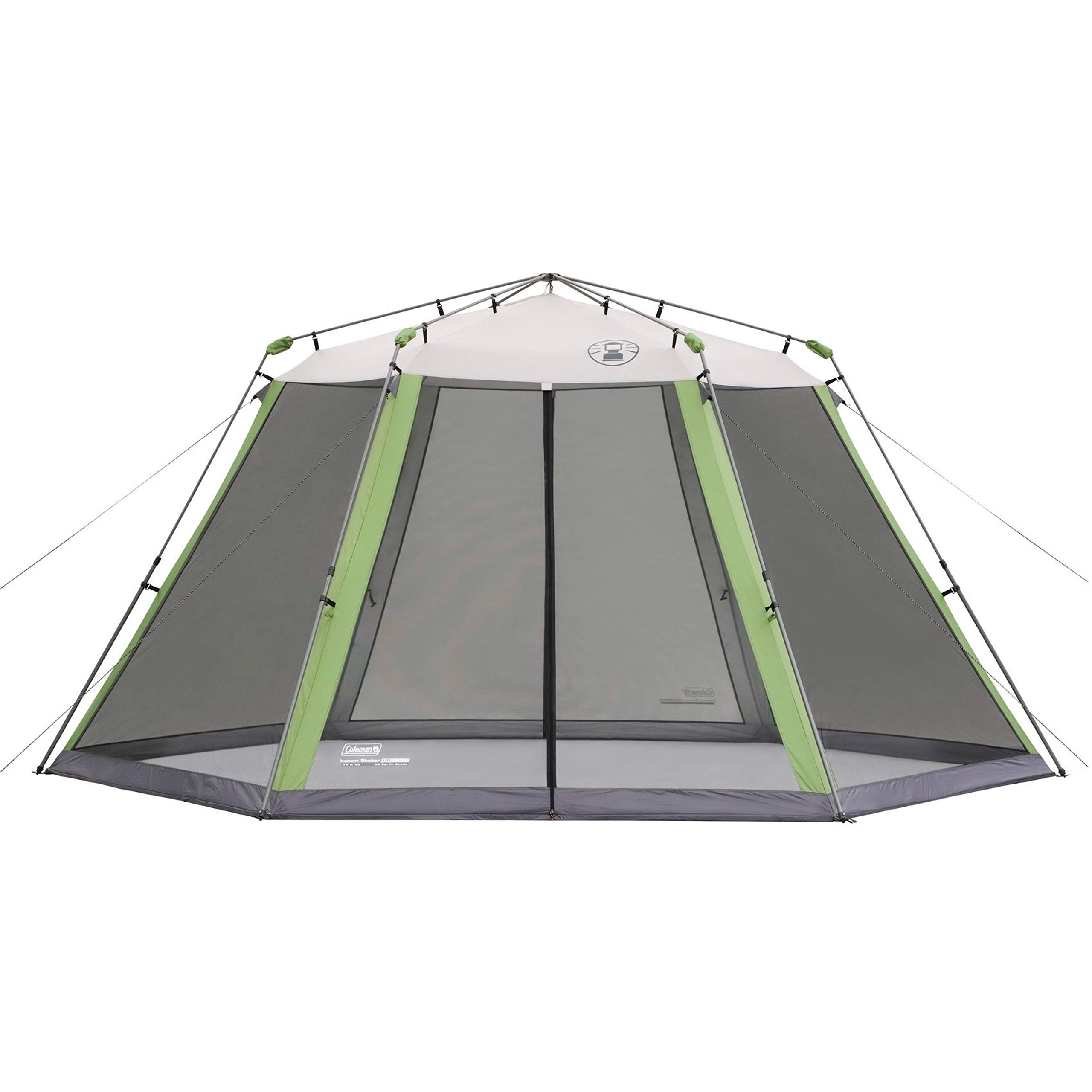 Coleman Screened Canopy Tent with Instant Setup   Outdoor Canopy and Sun Shade with 1 Minute Set Up by Coleman