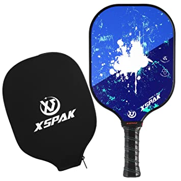 Amazon.com: XS XSPAK Paleta de grafito para Pickleball ...