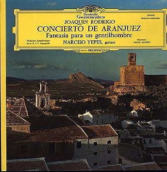 Amazon.com: Joaquin Rodgrigo and Narciso Yepes: Concierto de ...