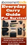 Everyday Carry Guide For Survival: The Definitive Beginner's Guide On Building The Ultimate EDC Kit For Everyday Use and Personal Protection (English Edition)