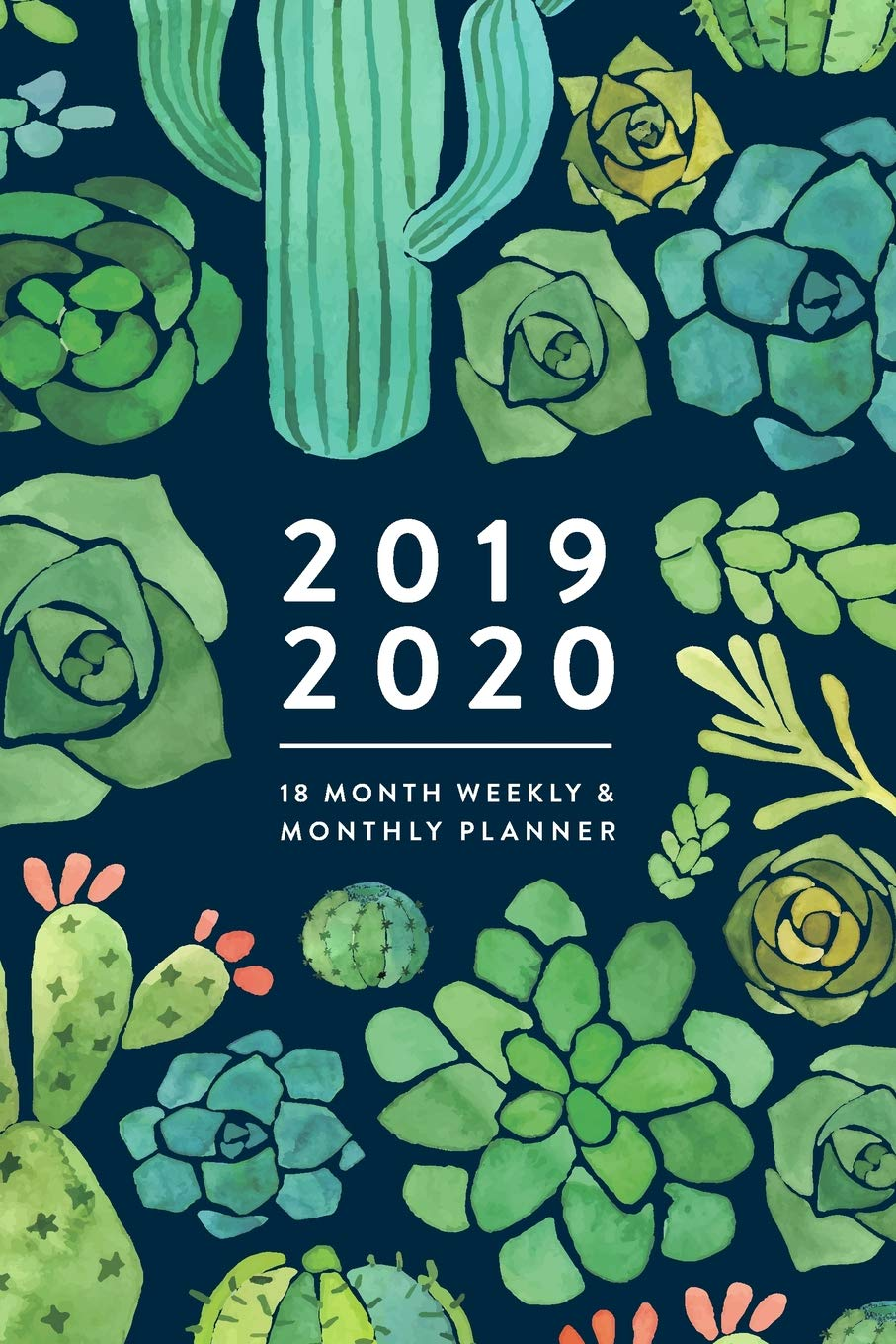 2019 2020 | 18 Month Weekly & Monthly Planner: January 2019 - June ...