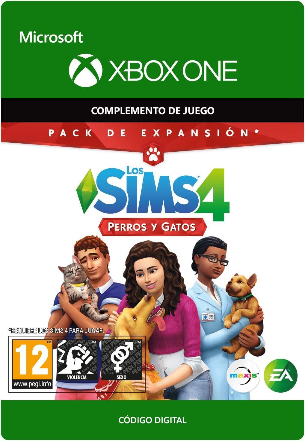 THE SIMS 4 CATS & DOGS - Xbox One - Código de descarga: Amazon.es ...