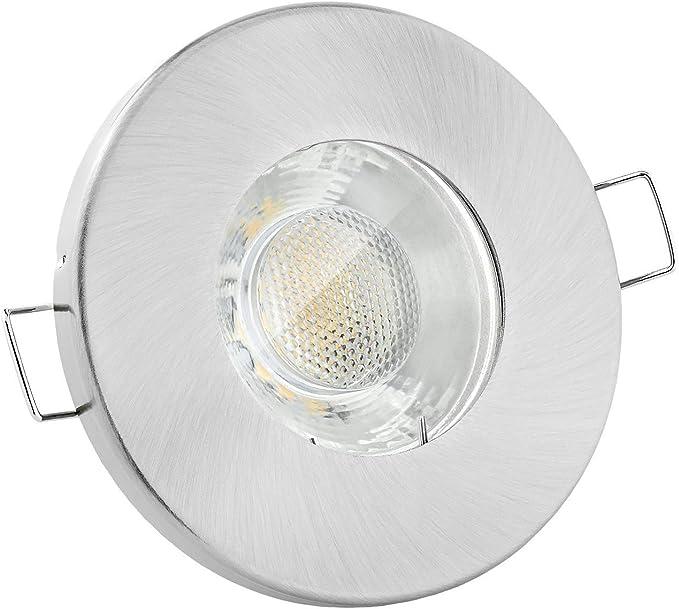LED BAD Einbaustrahler FLACH IP65 Feuchtraum Einbauspot Dusche Spot Deckenspot