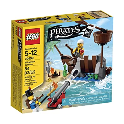 LEGO Pirates Shipwreck Defense (70409): Toys & Games