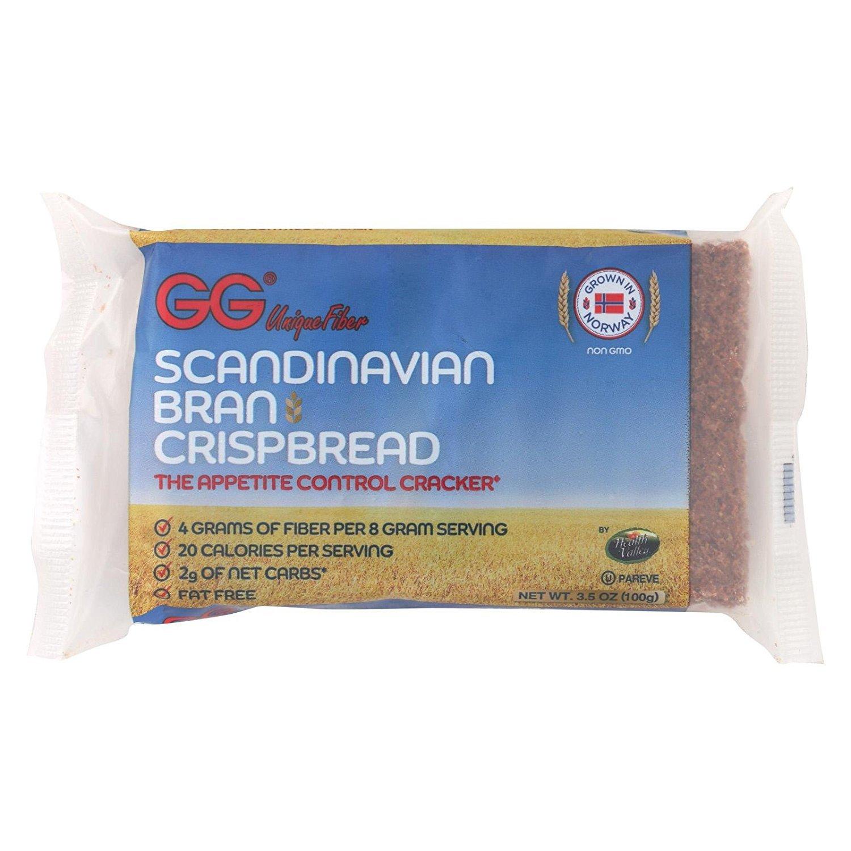 Health Valley GG Scandanavian Bran Crispbread, 3.5 Ounce - 30 per case.