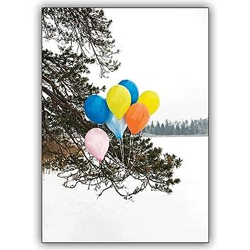 1 Geburtstagskarte Foto Grusskarte Nicht Nur Zum Geburtstag Bunte
