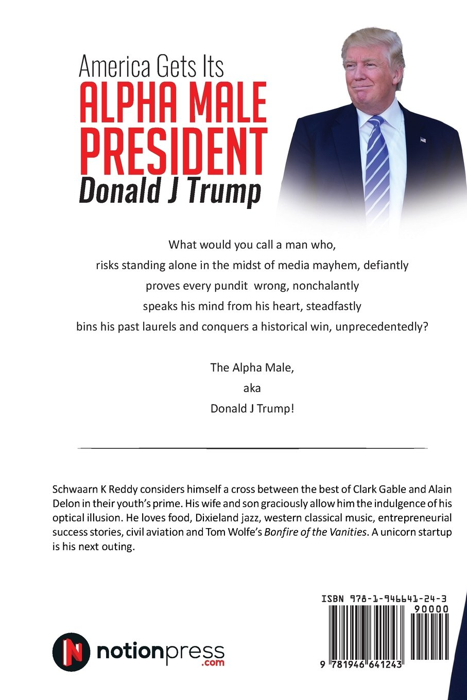Buy America Gets Its Alpha Male President Donald J Trump Book Online
