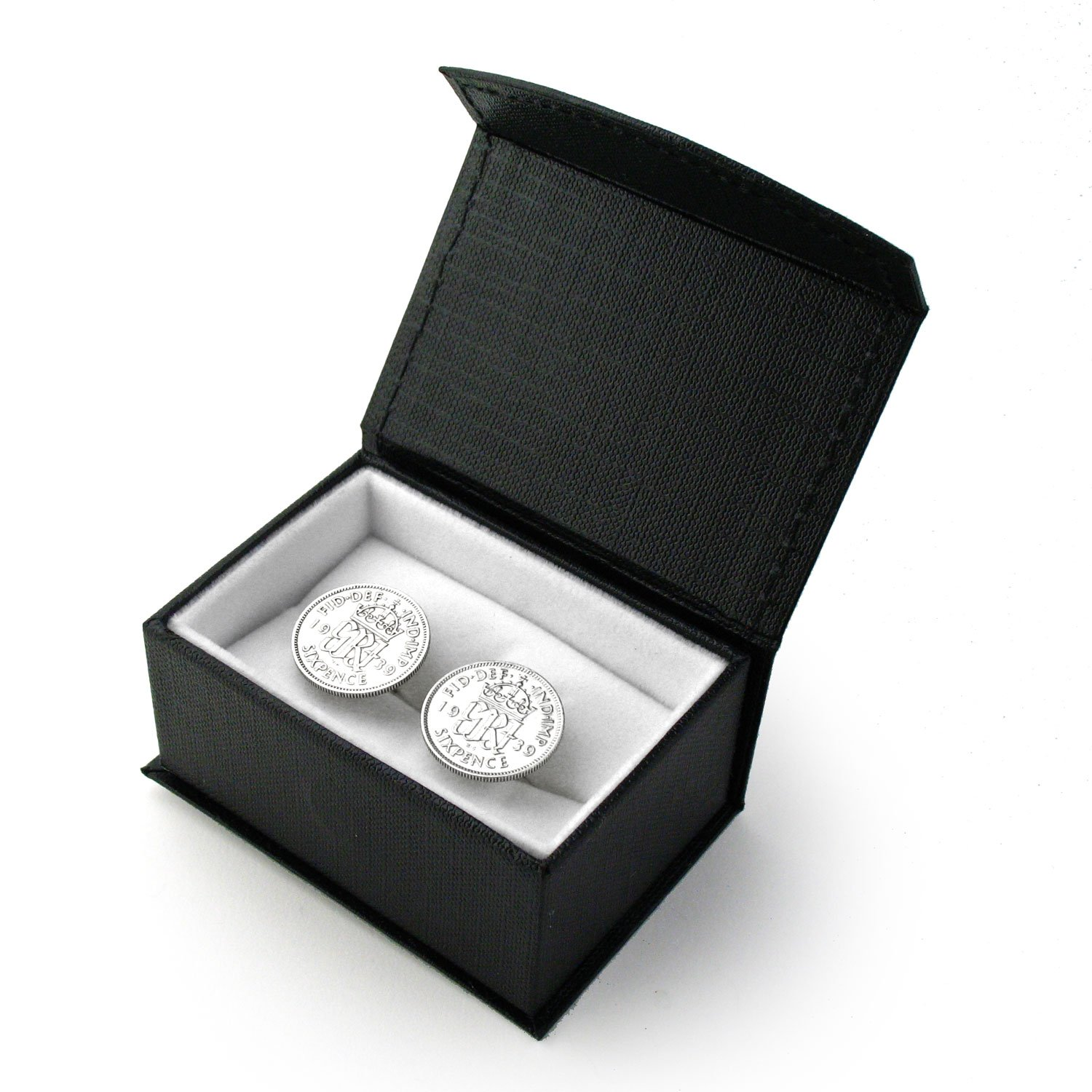 Authentic Sixpence Cufflinks