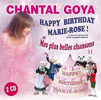 Amazon Happy Birthday Marie Rose Goya Chantal ȼ¸å…¥ç›¤ ɟ³æ¥½