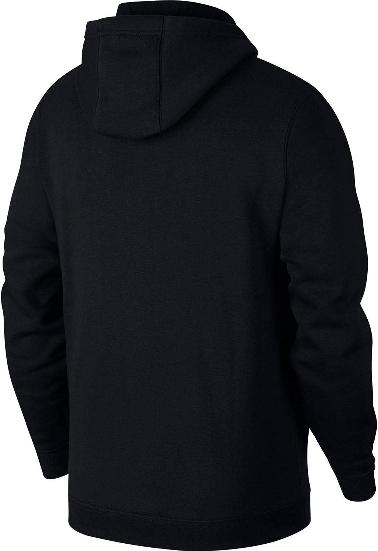 Nike Herren M Hoodie Fz FLC Tm Club19 Sweatshirt Black/Black/White/(White)