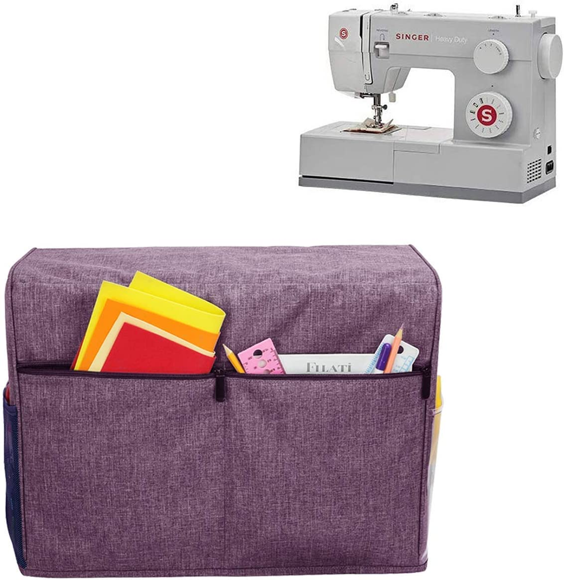Funda para máquina de coser Canamita, cubierta de nailon con ...