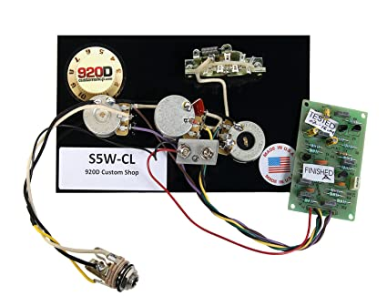 920d 5 way wiring harness with fender mid boost kit prewired Strat Wiring