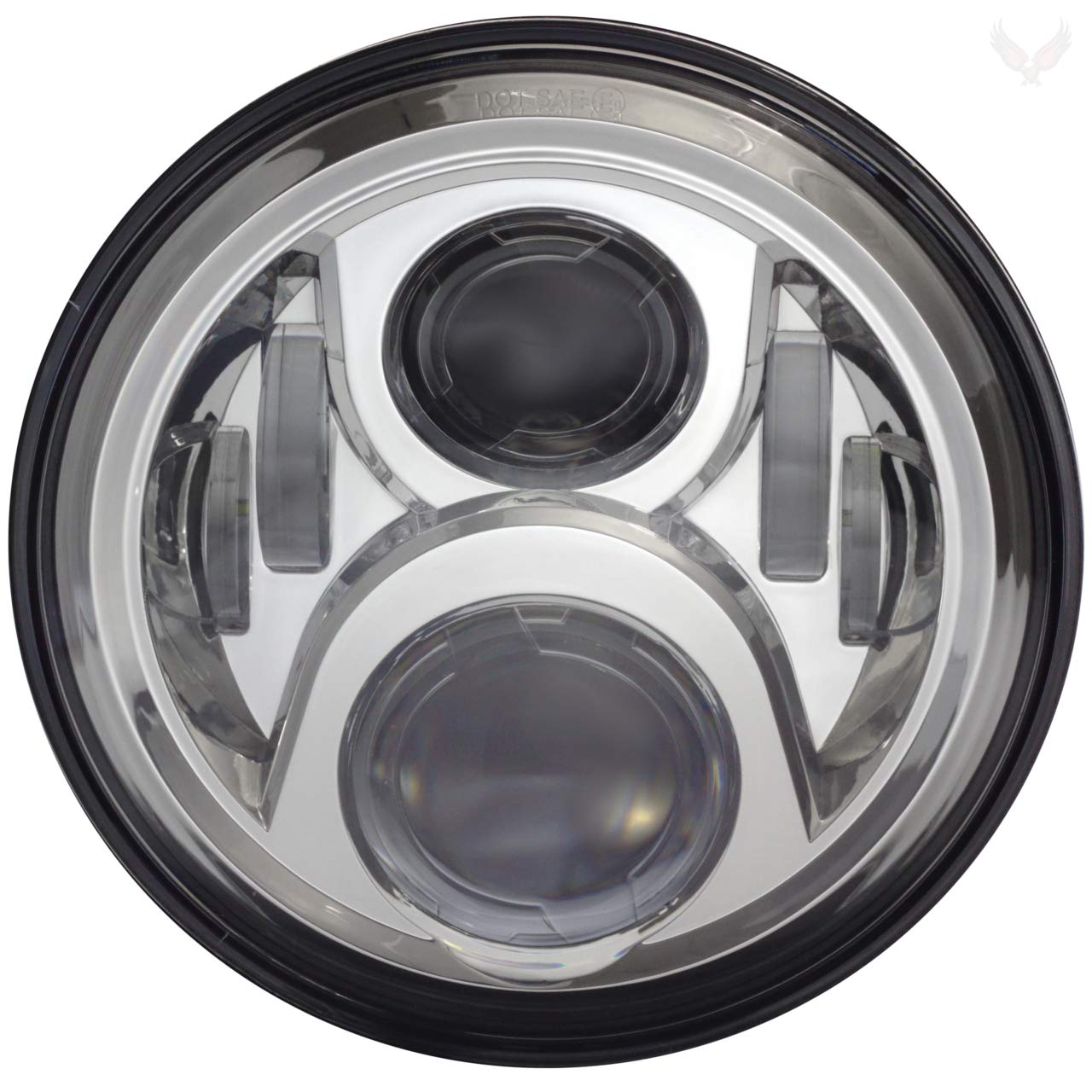 Eagle Lights 7-inch Round Generation 2 Projection LED Headlight