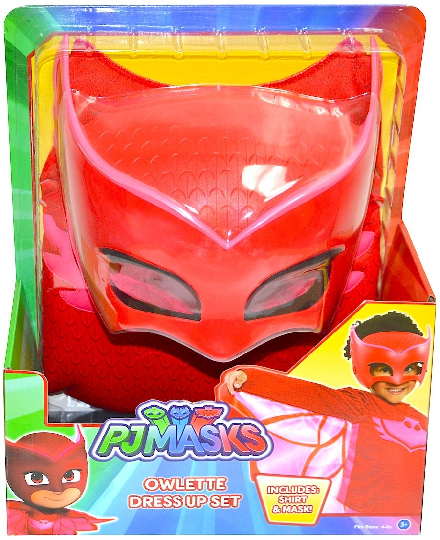 Amazon.com: PJMASKS PJ Masks Catboy Deluxe Dress Up Top & Mask (Blue): Clothing