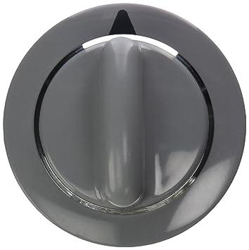 WE1M964 GE Dryer Knob Asm Timer Grey