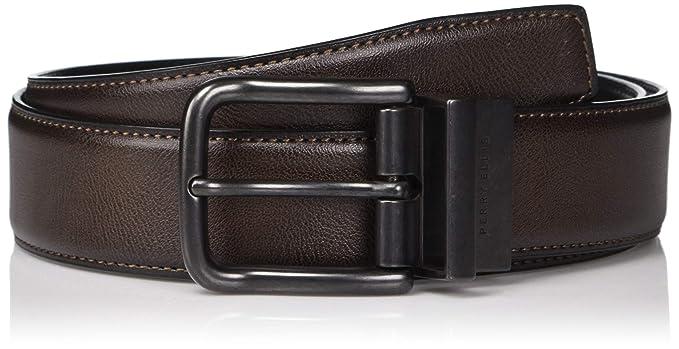 102b58065c4f Perry Ellis Men's Belt: Amazon.co.uk: Clothing