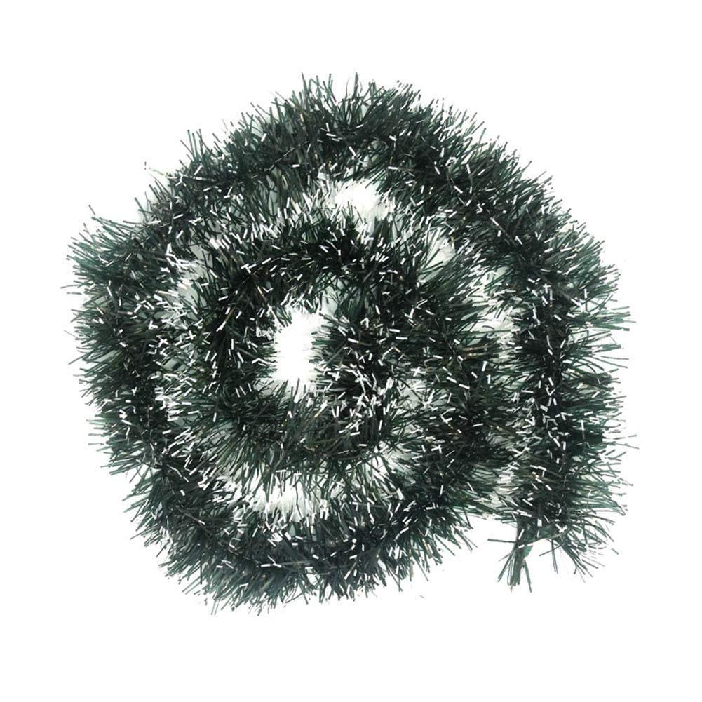 iBaste 1PCS Christmas Ribbon Garland Decor Christmas Tree Ornament Party Decoration Satin Ribbon,Black