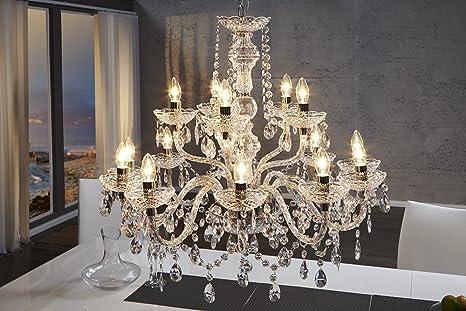 Dunord lampadario di design lussuoso a fiamma 15 bracci 82 x 78