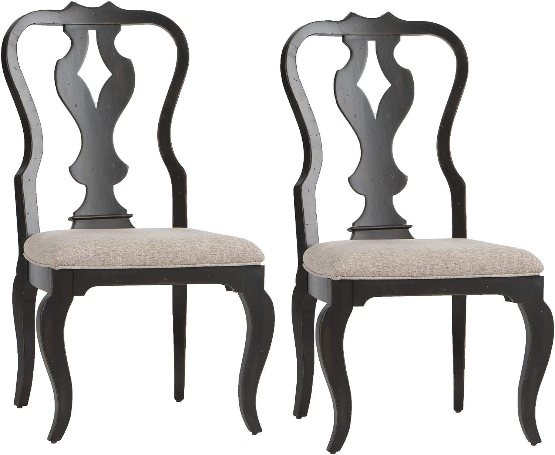 Liberty Furniture Industries Chesapeake Dining Chairs, Black
