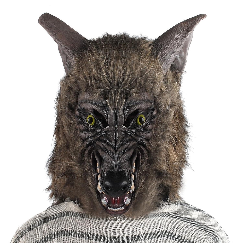 Amazon.com: California Costumes Men's Werewolf Ani-Motion Mask ...