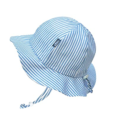 af8e1f2035067 Amazon.com  Baby Toddler Kids Breathable Cotton Sun Hat 50 UPF ...