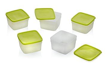 Amazoncom Stor Keeper Freezer Storage Containers 1 pint 5 ct