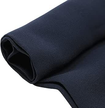 East Elite Crepe Fabric, 62 Inch x 27 Yard, Navy