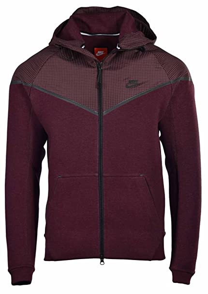 ... Jacket Size  Nike Mens Tech Windrunner Reflective 3MM Sport Casual  Jacket-Maroon-XL ... 0262d1a06