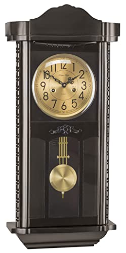Tempus Fugit L2 2074-Reloj de pared con péndulo madera de pared con movimiento mecánico carga 15 días.: Amazon.es: Relojes