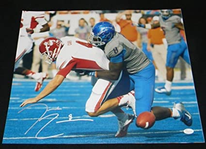 369b6334e Image Unavailable. Image not available for. Color  Autographed Demarcus  Lawrence Signed ...