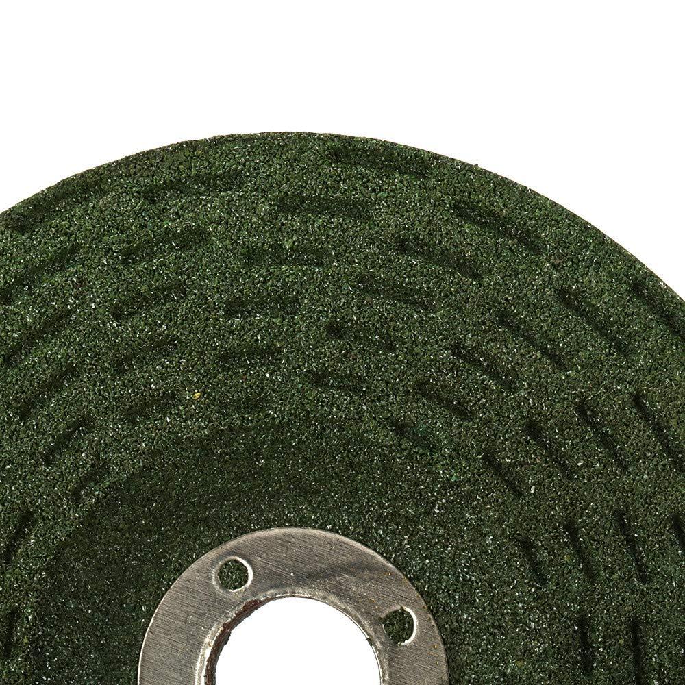 JINYIWEN Disco da taglio /Disco da taglio 5Pz 100x16x6mm 60 80# Disco da taglio in resina per disco da smerigliatura in metallo per smerigliatrice angolare Velocit/à massima 4300 m//min Alta qualit/à