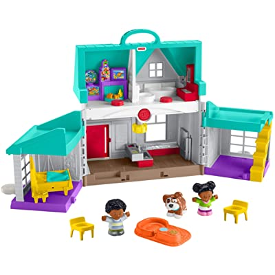 Fisher-Price Little People Big Helpers Home, Little People HOME: Toys & Games