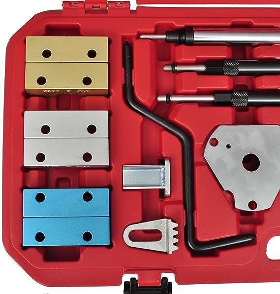 HENGDA® Fiat Herramienta especial correa Ajustar de dientes Herramientas de ajuste para Fiat/Alfa Juego de herramientas de ajuste de motor fijar: Amazon.es: Coche y moto