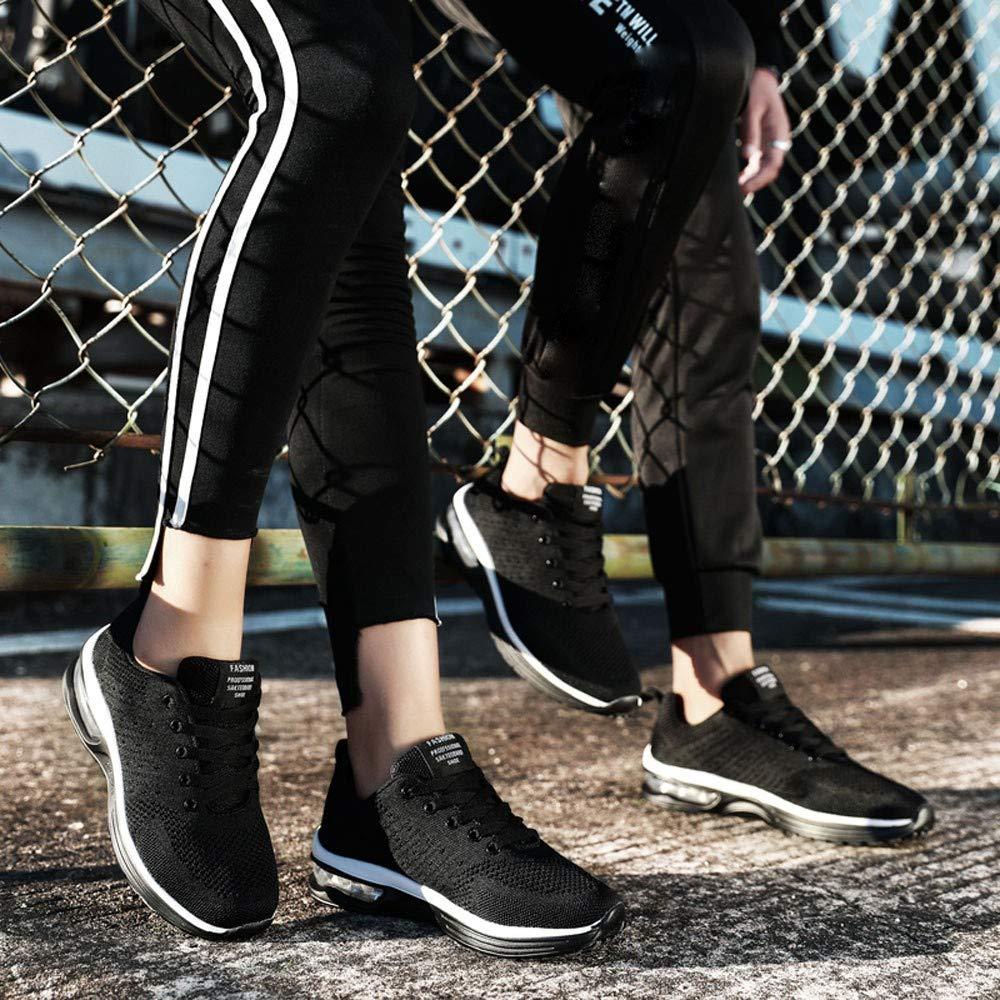 ELECTRI Chaussures de Course,Mode Sport Chaussures Hommes Femmes en Plein Air Couple Boost Respirant Maille Chaussures de Sport