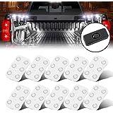 Audew 10x6 Lampada LED per Auto/ Esterno Camper/ Camion Luce Bianca per Lettura/Soffitto/Plafoniere/Interbianca Impermeabile Illuminazione Lampada DC12v 5