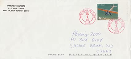 1997 32 Tri Motor Postage Stamp On Legal Size Envelope Cancelled Jul 6 1998