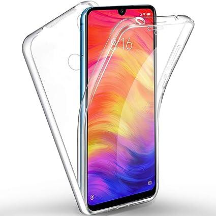Cover Xiaomi Redmi Note 8T Silicone Fronte Retro Blu