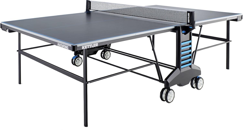 Kettler # sketchpongインドア/アウトドアTable Tennis Table B07F8LFXW5  プレーヤー4人用 メガバンドル カバー付き