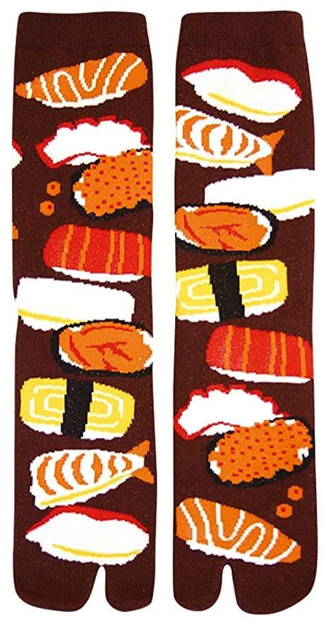 Japanese Samurai Ninja Tabi Socks; Sushi