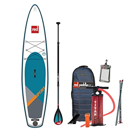 Amazon.com: RED Paddle 2019 Co. 126 Sport SUP hinchable con ...