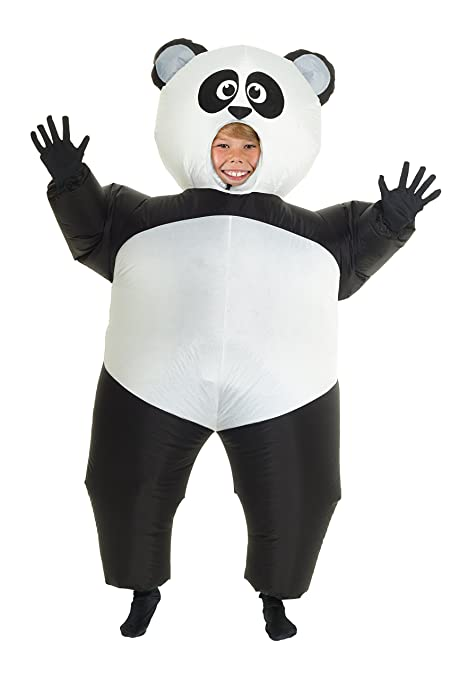 Amazon.com  Kids Inflatable Panda Costume Childrens Giant Animal Suit Funny  Childs Dress Up  Toys   Games a7fdec35c5ca