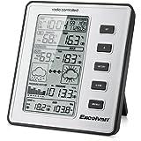 Excelvan WH1070 Stazione Meteo Professionale Wireless con Velocità del vento, Precipitazioni, Temperatura, Umidità, Barometro