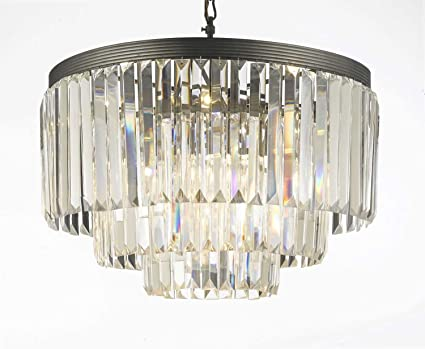 Odeon crystal glass fringe 3 tier chandelier chandeliers lighting odeon crystal glass fringe 3 tier chandelier chandeliers lighting aloadofball Choice Image