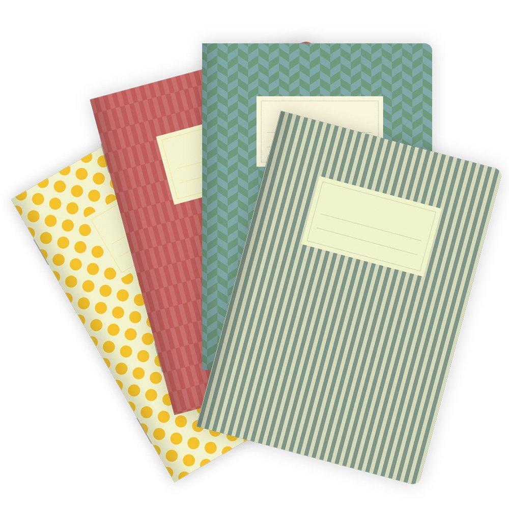 etmamu 540Set di pattern Quaderni colorati, 32fogli bianchi