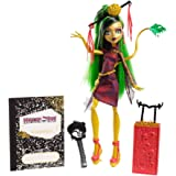 Mattel Y7657 - Bambola Scaris Deluxe Jinafire Long, serie Monster High