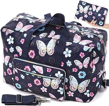 Pink Love Cute Cactus Large Travel Duffel Bag For Women Men Overnight Weekend Lightweight Luggage Bag